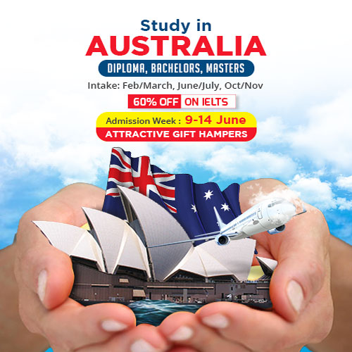 Study in Australia Adimission Week Program